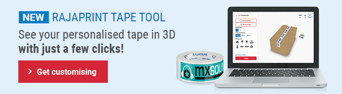 Design your own custom printed tape It's quick and easy!